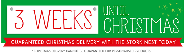 shopping at the stork nest guarantees your santa parcels will arrive by christmas plus with every order you will receive a pack of free